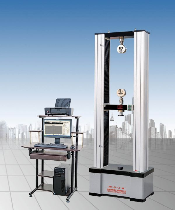 电液伺服双柱拉伸材料试验机
